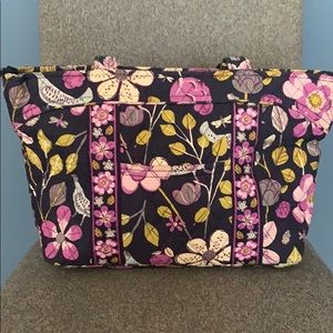 Vera Bradley Shoulder Bag Floral Nightingale